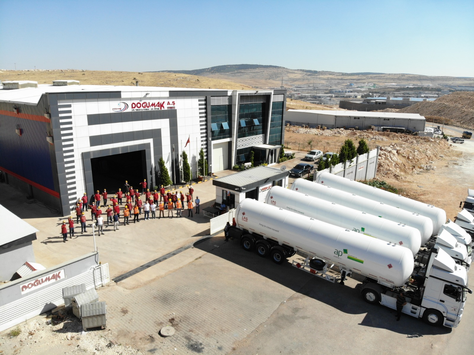 EnergyHub NG partners LPG Tank Manufacturer DOĞUMAK Inc.