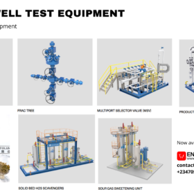 Buy Surface Well Test Equipment from HC Petroleum Equipment. Now available on energyhubng.com