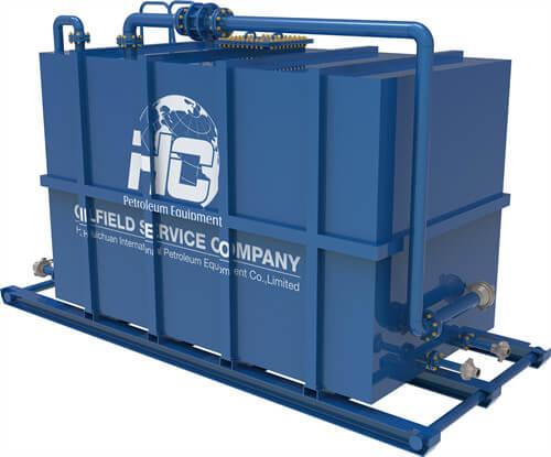 Atmospheric Gauge Tank by HC Petroleum Equipment
