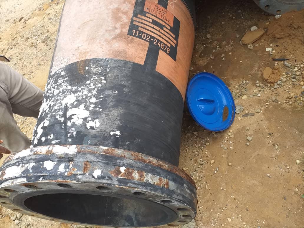 """Dredging hose 24""""by 40ft.."""
