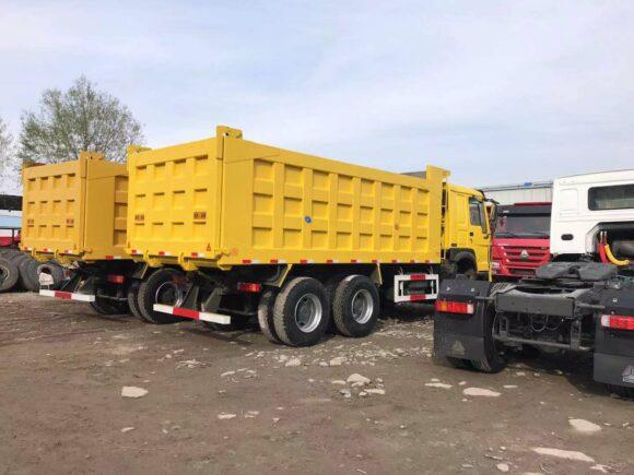 HOWO Used Dump Trucks for sale in Nigeria
