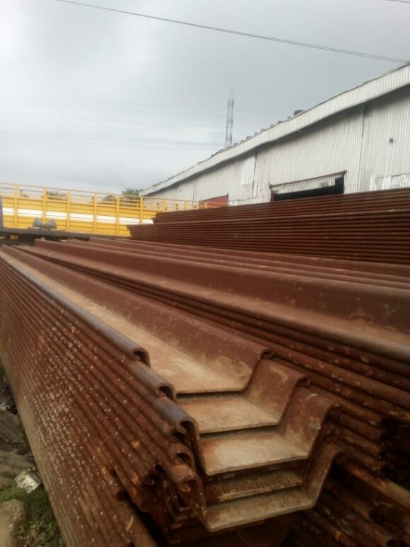Luxembourg Piling Sheets for Sale in Lagos, Nigeria