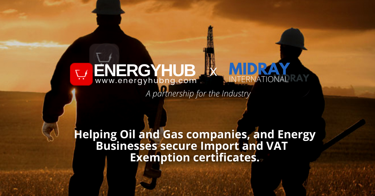 Import and VAT  Exemption certificates: EnergyHub partners Midray for service accessibility